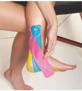 how to apply tape for plantar fasciitis step 8
