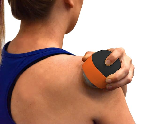 kt recovery ball heat shoulder