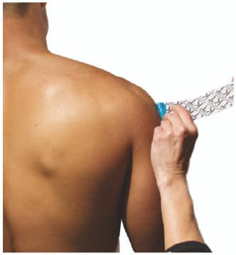 how to apply tape to rotator cuff step 2