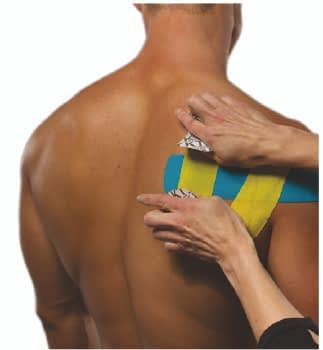 how to apply tape to rotator cuff step 7