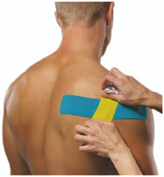 how to apply tape to rotator cuff step 5