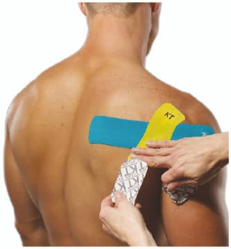 how to apply tape to rotator cuff step 6
