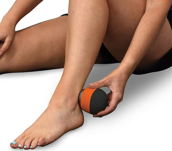 kt massage ball ice ankle