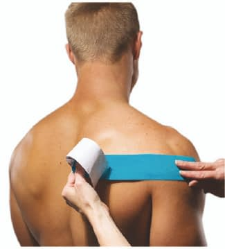 how to apply tape to rotator cuff step 4