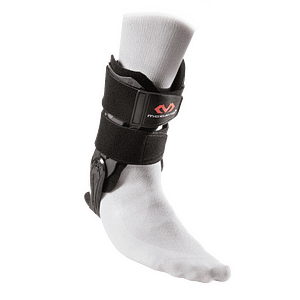 197 ankle v support brace flexible hinge