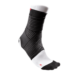 433 ankle support mesh straps black