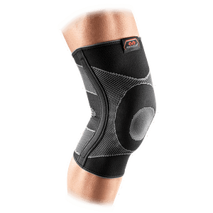 5116 knee support sleeve elastic gel buttres and stays