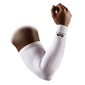 Arm Compression Sleeve / pair white 6566