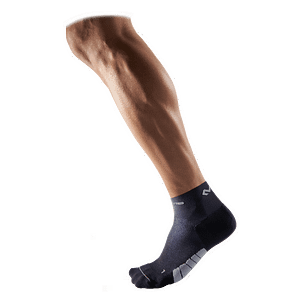 Runner Socks Low-Cut / Pair black blue 8833
