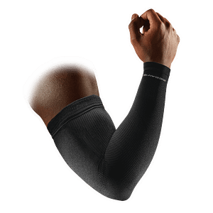 Elite Compression Arm Sleeves / Pair black blue 8837