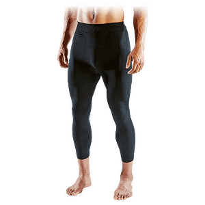 elite compression pants 3/4 tight
