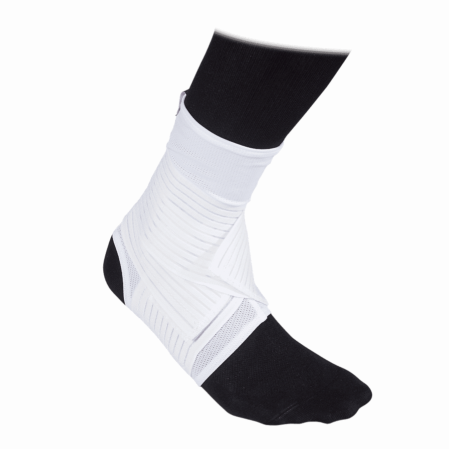 433 ankle support mesh straps white