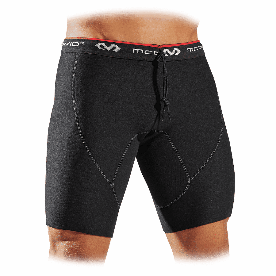 479 neoprene compression shorts with adjustable drawstring