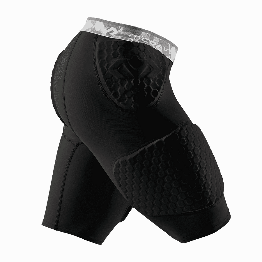 Hex Protection Short With Contoured Wrap-around Thigh black 7991