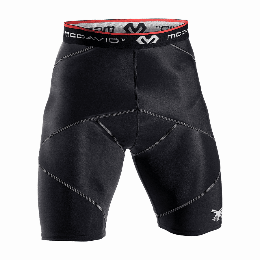 Cross Compression Short With Hip Spica black 8200