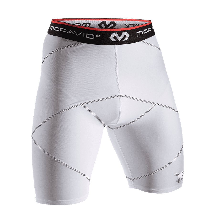 Cross Compression Short With Hip Spica white 8200