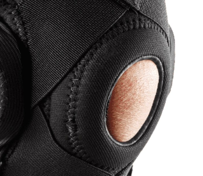 open padded buttres