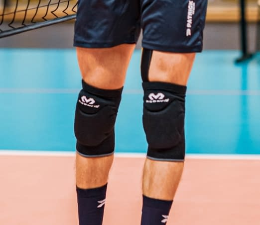 secure fit volleyball knee pads