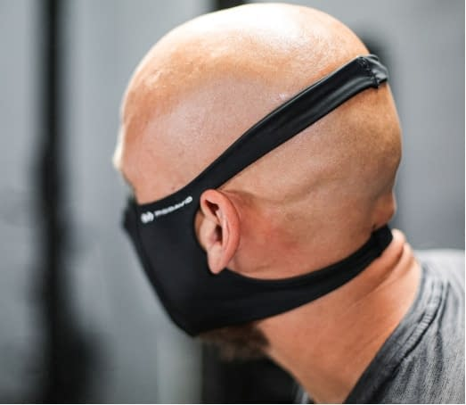 head straps face mask