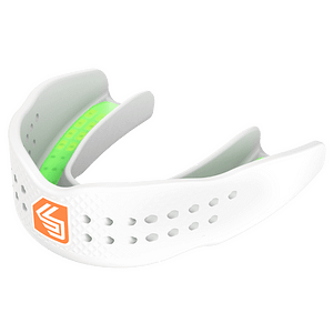super fit basketball mouthguard white
