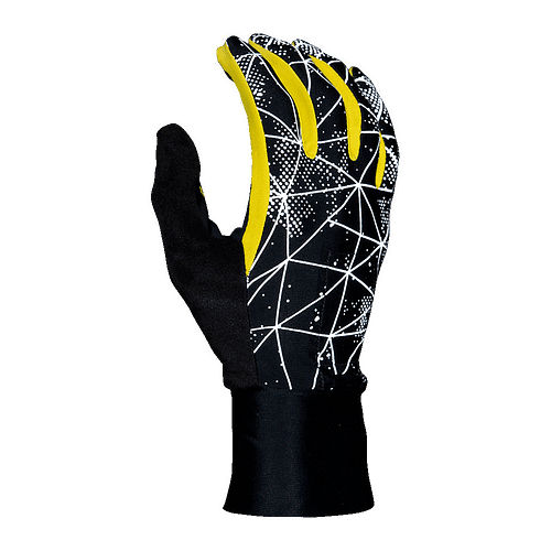hypernight reflective gloves running