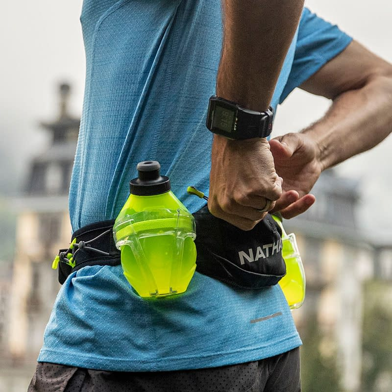 hydration belt zippered pocket